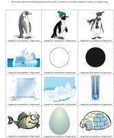 Magnifying-glass game-Penguins