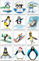 Picture game-Penguins