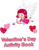 Activity sheets - Valentine's Day Activity Book