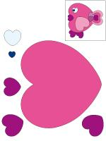 Educa-shape-chick hearts