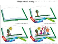 Sequential story-The library