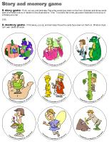 Story and memory game-Reading