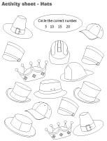 Activity sheets-Hats