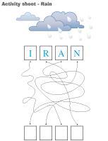 Activity sheets-Rain
