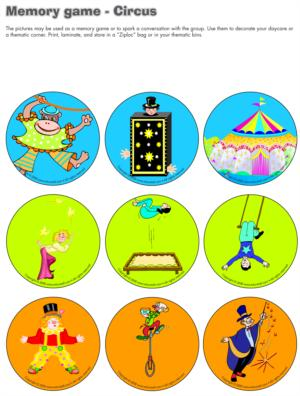 Circus Theme And Activities Educatall