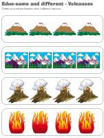 Educ-same and different-Volcanoes