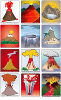 Picture game-Volcanoes