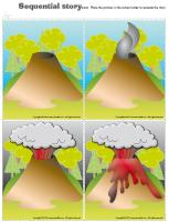 Sequential story-Volcanoes