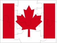 Puzzles-Canada Day