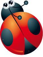 Lacing-Ladybugs