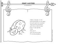 Songs and Rhymes-Busy ladybug