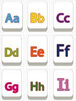 Mini alphabet-letters