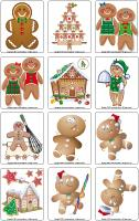 Picture game-Gingerbread