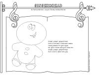 Songs and Rhymes-Gingerbread