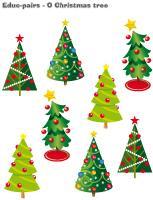 Educ-pairs-O Christmas tree