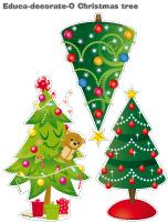 Educa-decorate-O Christmas tree