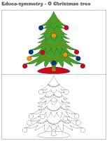 Educa-symmetry-O Christmas tree