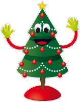 Puppets-O Christmas tree