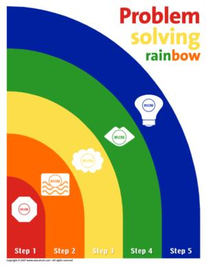 Colors - Problem solving rainbow