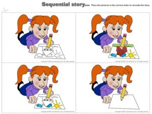 Colors - Sequential story