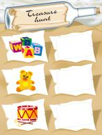 Treasure-hunt game