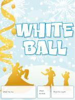 Perpetual calendar-White ball
