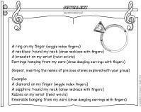 Songs and Rhymes-Jewellery