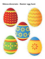 Educa-decorate-Easter egg hunt
