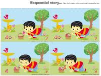 Sequential story-Easter egg hunt