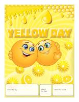 Perpetual calendar-Yellow Day