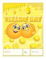 Perpetual calendar-Yellow Day