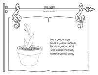 Songs & rhymes-Yellow