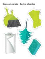 Spring Cleaning Theme And Activities Educatall