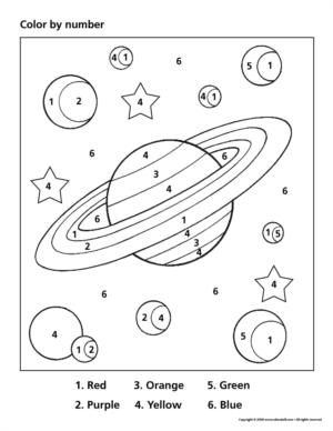 planets and their moons worksheets - photo #29