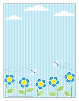 Stationery Blue