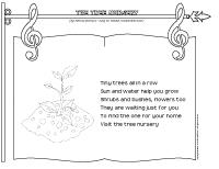songs & rhymes-The tree nursery