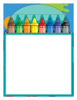 Stationery-The multicolored theme