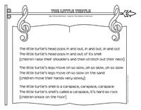 Songs & rhymes-The little turtle