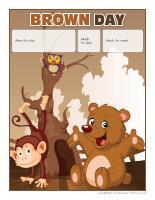 Perpetual calendar-Brown Day