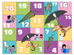 Sharing - Snakes and Ladders