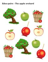 Educ-pairs-The apple orchard
