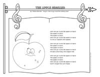Songs & rhymes-The apple orchard