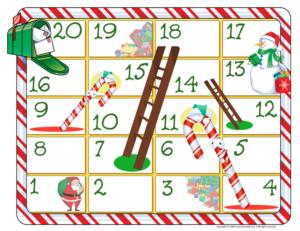 Christmas - Snakes and ladder