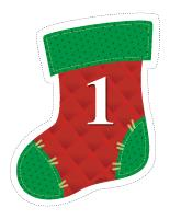 Garland-Christmas stockings