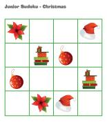 Junior Sudoku-Christmas