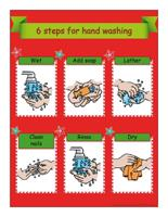 Poster-Special Christmas hand washing
