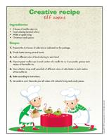 Creative recipe-Elf cakes