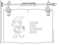 Songs & rhymes-Santa's elves