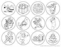 Christmas craft - Badge
