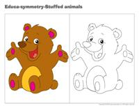 Educa-symmetry-Stuffed animals